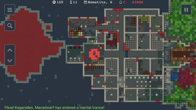 Dwarf Fortress Remote iPhone Screenshot