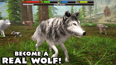 Ultimate Wolf Simulator iPhone Screenshot
