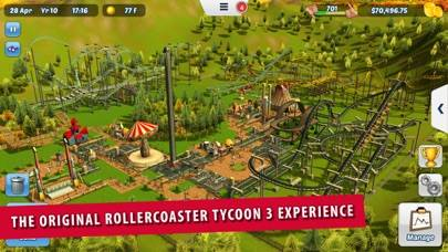 RollerCoaster Tycoon 3 iPhone Screenshot