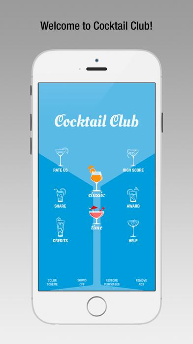 Cocktail Club iPhone Screenshot
