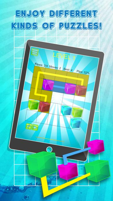 Jelly Cube Pipe Link Match iPhone Screenshot