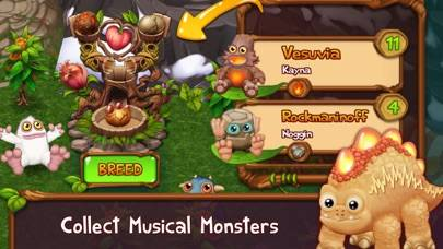 My Singing Monsters: Dawn of Fire iPhone Screenshot