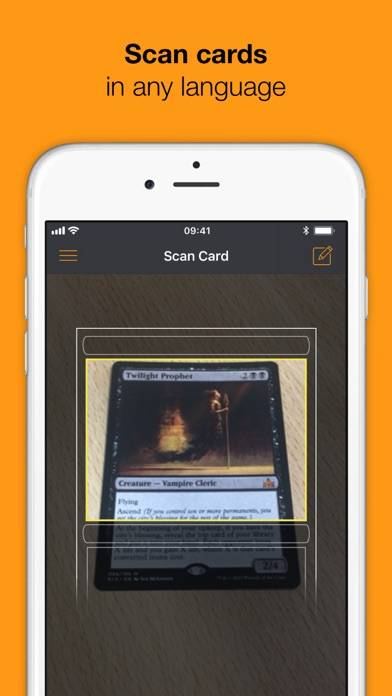 MTG Augmented Reader iPhone Screenshot
