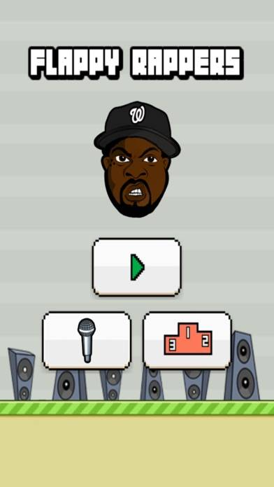 Flappy Rappers iPhone Screenshot