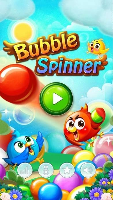 Bubble Spinner iPhone Screenshot
