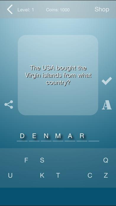 World History Quiz iPhone Screenshot
