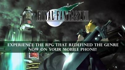 FINAL FANTASY VII iPhone Screenshot