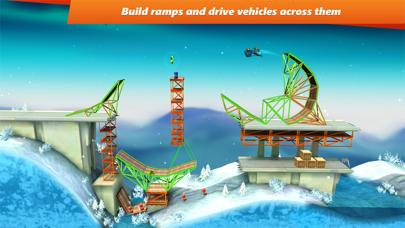 Bridge Constructor Stunts FREE iPhone Screenshot
