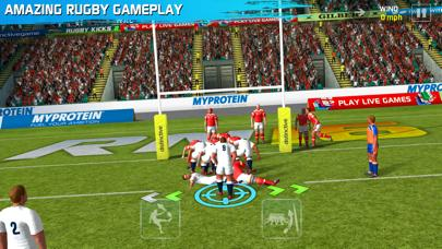 Rugby Nations 16 iPhone Screenshot