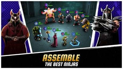 Teenage Mutant Ninja Turtles: Legends iPhone Screenshot