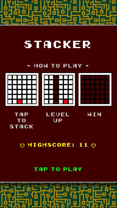 Stacker iPhone Screenshot