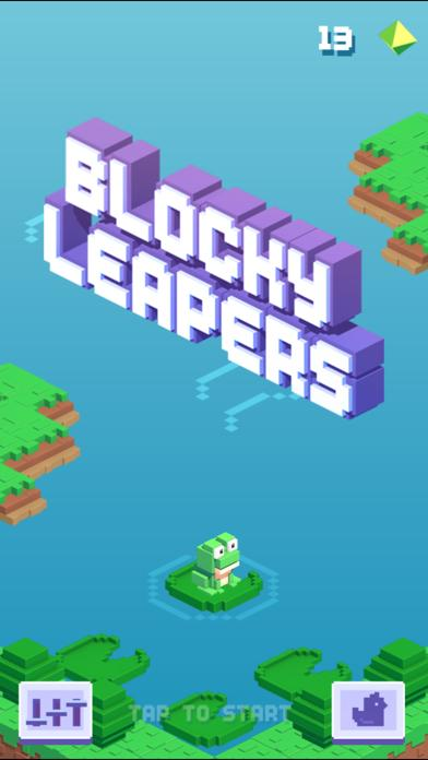 Blocky Leapers iPhone Screenshot