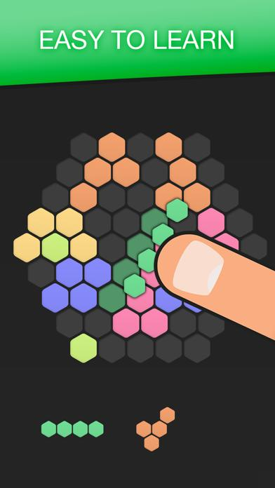 Hex FRVR iPhone Screenshot