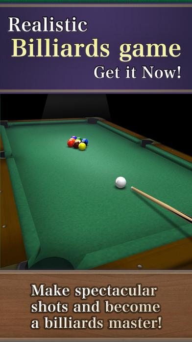Billiards9 iPhone Screenshot