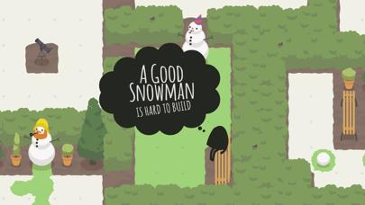 A Good Snowman Is Hard To Build iPhone Screenshot