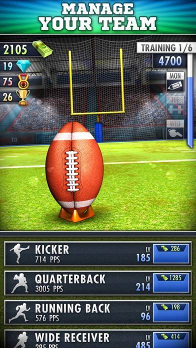 Football Clicker iPhone Screenshot