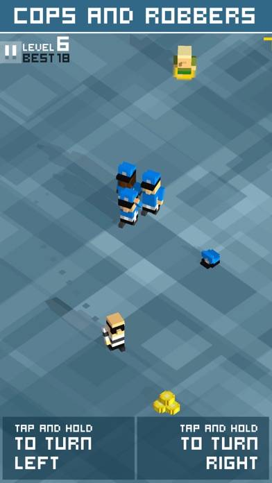 Cops & Robbers! iPhone Screenshot