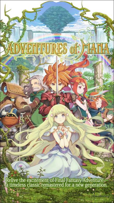 Adventures of Mana iPhone Screenshot