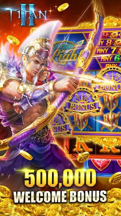 Titan Slots™ II iPhone Screenshot