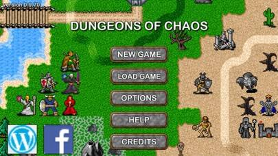 Dungeons of Chaos UNITY EDITION iPhone Screenshot