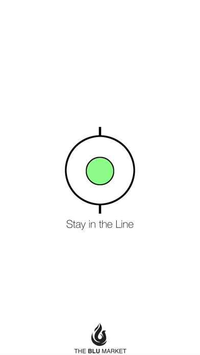 Stay in the Line iPhone Screenshot