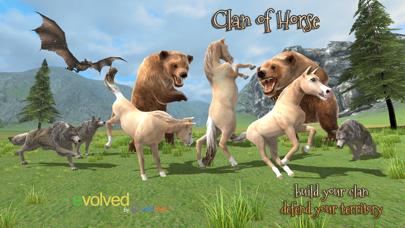 Clan of Horse iPhone Screenshot