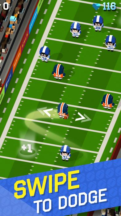 Blocky Football iPhone Screenshot