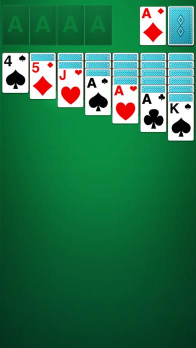 Solitaire Ⓞ iPhone Screenshot