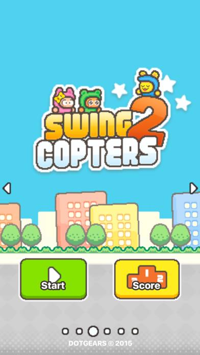 Swing Copters 2 iPhone Screenshot