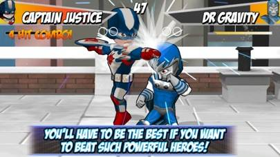 Superheros 2 Free fighting games iPhone Screenshot