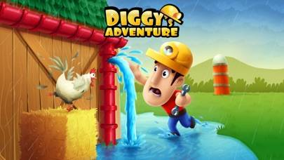 Diggy's Adventure iPhone Screenshot