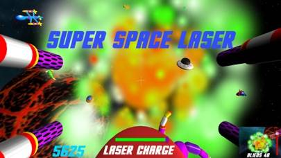 Super Space Laser Pro iPhone Screenshot