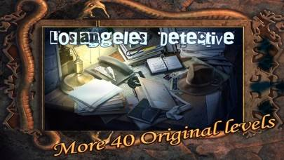 Hidden Object Los Angeles Detective Gold iPhone Screenshot
