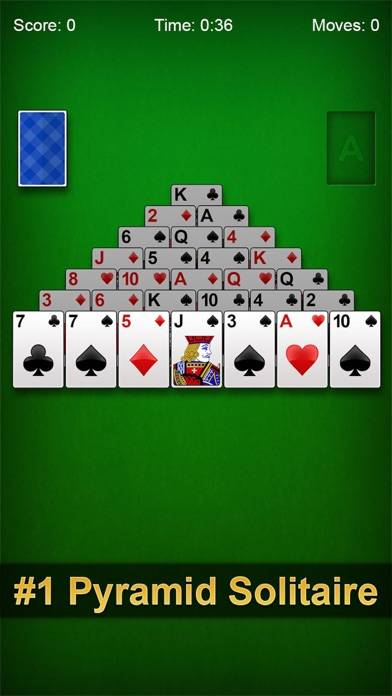 Pyramid Solitaire Pro ▻ iPhone Screenshot