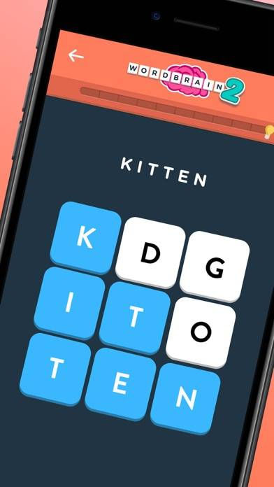 WordBrain Themes iPhone Screenshot