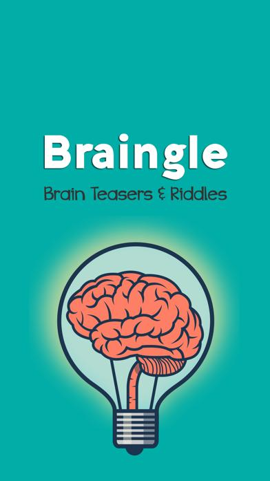 Braingle Brain Teasers & Riddles iPhone Screenshot