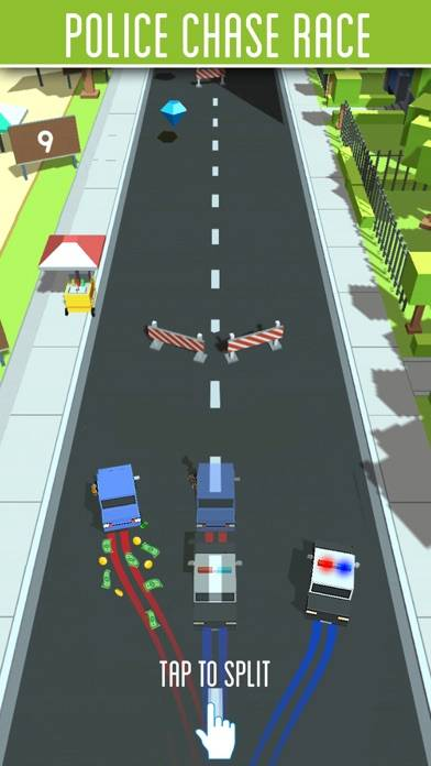 Police Chase Race iPhone Screenshot
