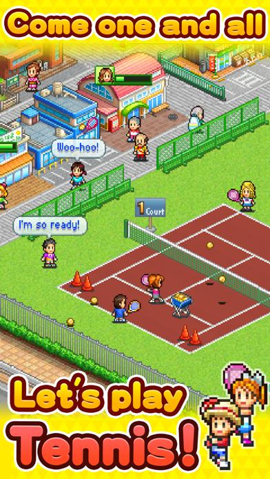 Tennis Club Story iPhone Screenshot