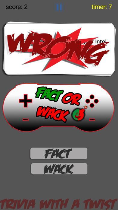FACT OR WACK video games screenshot 2