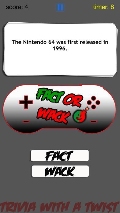 FACT OR WACK video games screenshot 3