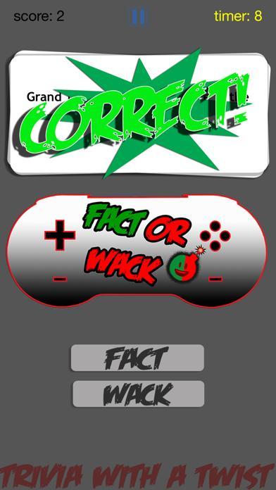 FACT OR WACK video games screenshot 4