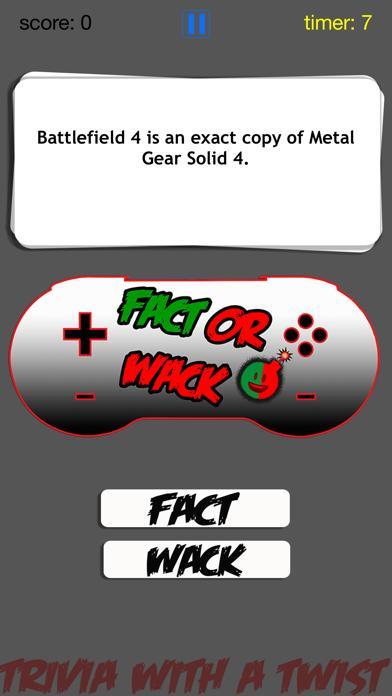 FACT OR WACK video games screenshot 5