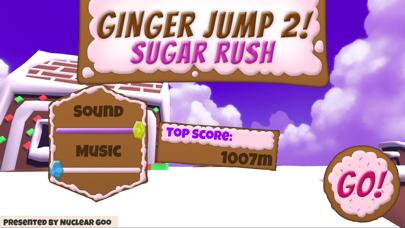 Ginger Jump 2 Sugar Rush iPhone Screenshot
