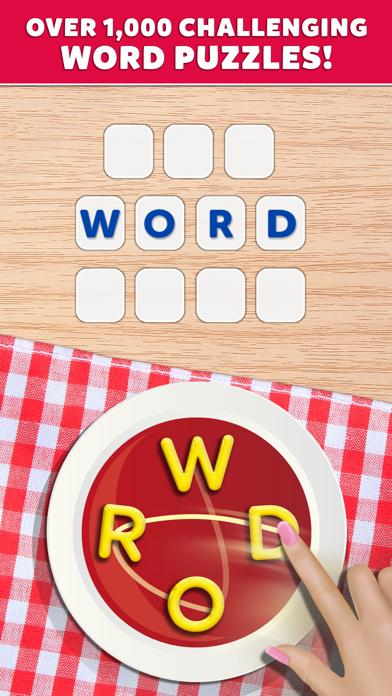 Letter Soup Cafe iPhone Screenshot
