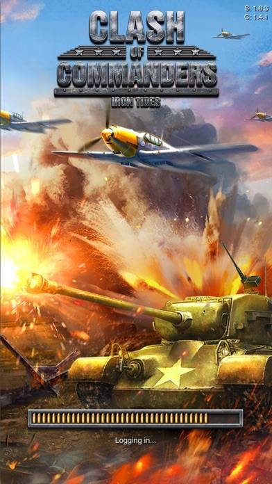 Clash Of Commanders iPhone Screenshot