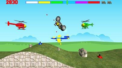 Motorcycle Madness Pro iPhone Screenshot