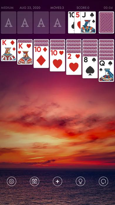 Solitaire Free: card games for adults iPhone Screenshot