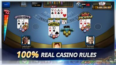 Blackjack Tournament iPhone Screenshot