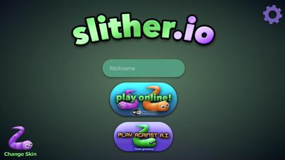 slither.io iPhone Screenshot