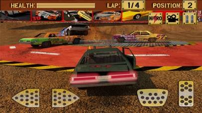 Mad Car Crash Racing Demolition Derby iPhone Screenshot
